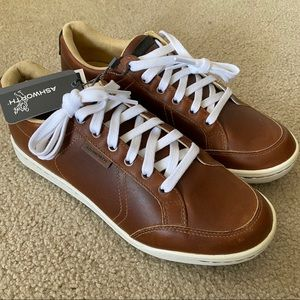 NWT Ashworth Cardiff Leather Spikeless Golf Shoes
